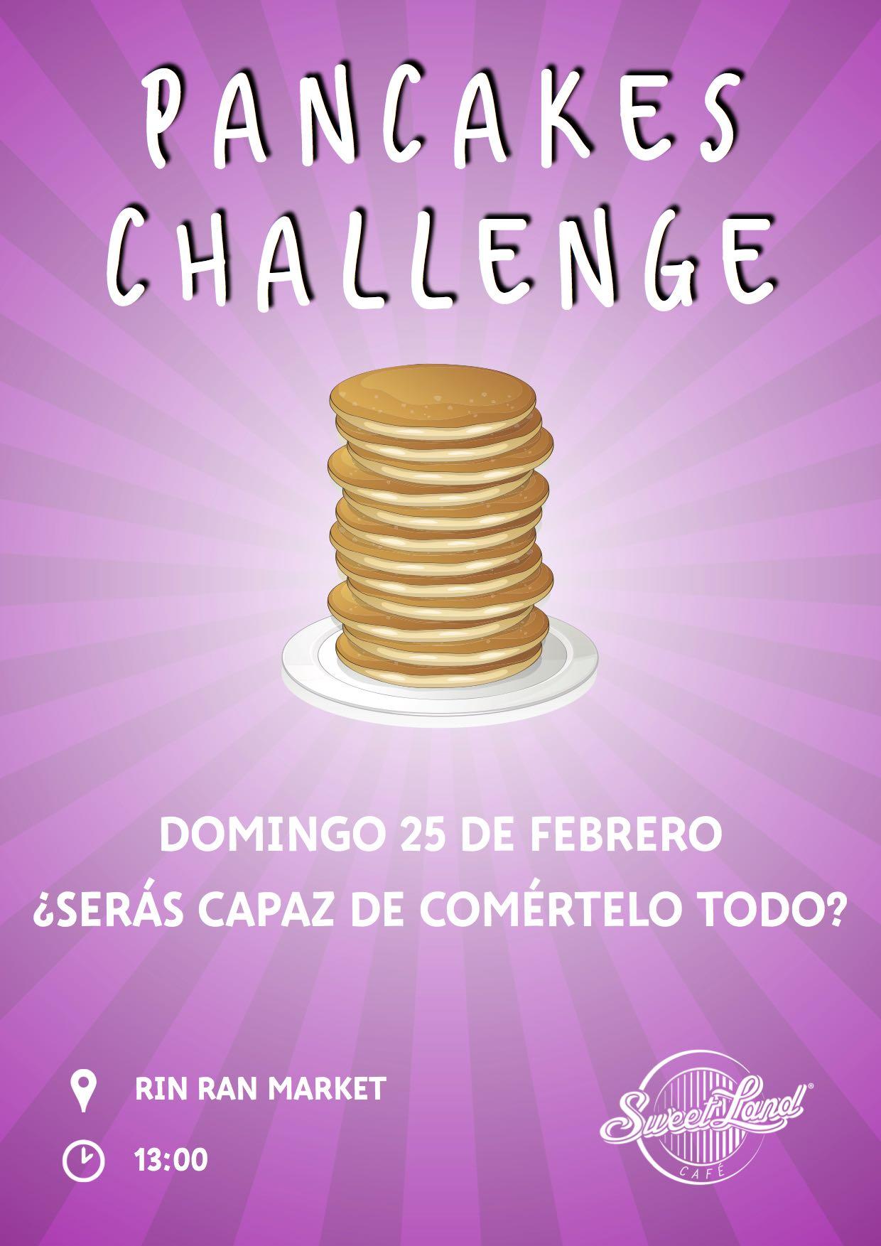 Pancake Day Challenge
