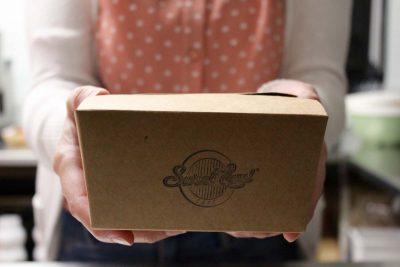 caja para llevar