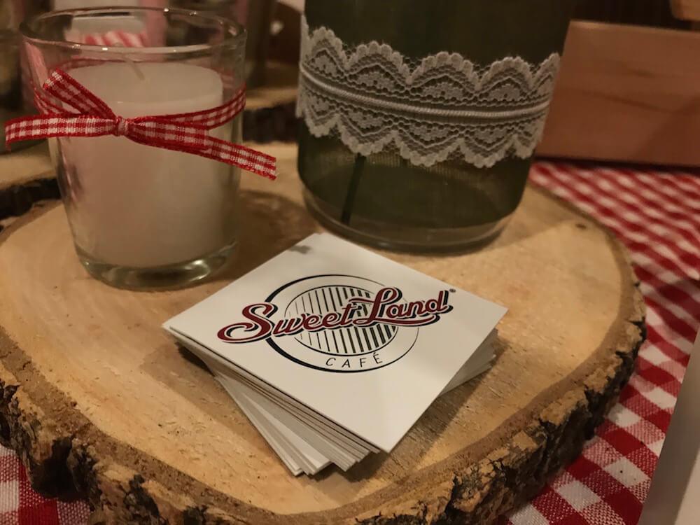 Tarjetas Sweetland Café