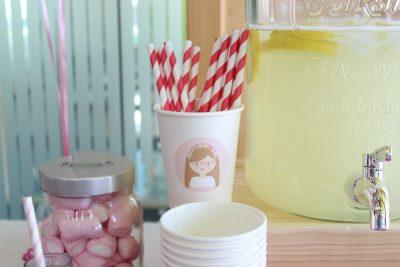 Pajitas para la limonada